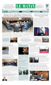 Edition Mercredi 11 Octobre 2017