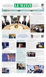 Edition Jeudi 12 Octobre 2017