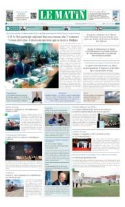 Edition Mercredi 29 Novembre 2017