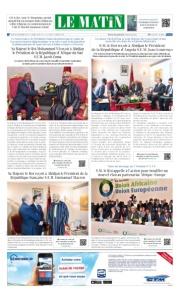 Edition Jeudi 30 Novembre 2017