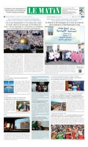 Edition Mercredi 06 Decembre 2017