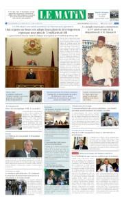 Edition Jeudi 28 Decembre 2017