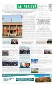 Edition Mercredi 14 Février 2018