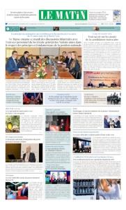 Edition Lundi 05 Mars 2018