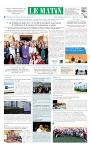 Edition Vendredi 09 Mars 2018
