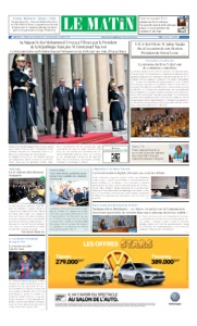 Edition Mercredi 11 Avril 2018