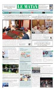 Edition Mercredi 06 Juin 2018