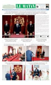 Edition Lundi 30 Juillet 2018