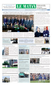 Edition Mardi 04 Septembre 2018