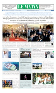 Edition Mardi 18 Septembre 2018