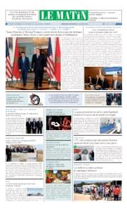 Edition Mercredi 19 Spetembre 2018