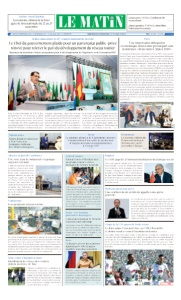 Edition Mardi 25 Septembre 2018
