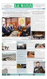 Edition Samedi 26 Janvier 2019