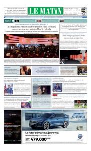 Edition Jeudi 14 Mars 2019