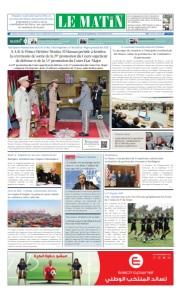 Edition Jeudi 27 Juin 2019