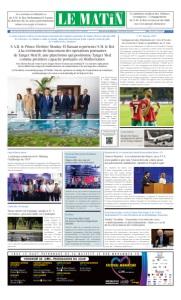 Edition Samedi 29 Juin 2019