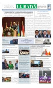 Edition Jeudi 03 Octobre 2019