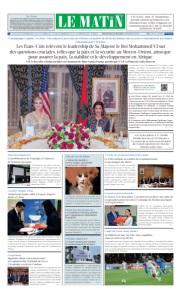 Edition Samedi 09 Novembre 2019