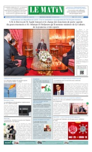 Edition Mercredi 08 Avril 2020