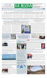 Edition Jeudi 09 Avril 2020
