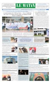 Edition Lundi 13 Avril 2020