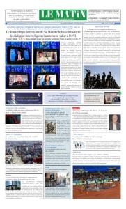 Edition Jeudi 14 Mai 2020