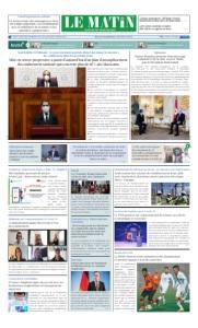 Edition Jeudi 11 Juin 2020