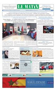Edition Jeudi 08 Octobre 2020