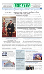 Edition Samedi 14 Novembre 2020