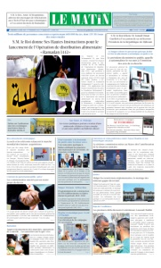 Edition Mercredi 14 Avril 2021