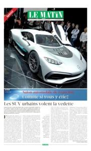 Salon automobile de Francfort