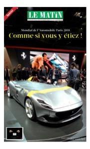 Mondial de l'Automobile Paris 2018 : Comme si vous y étiez !