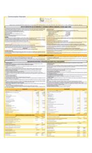 JAIDA-: Communication Financière