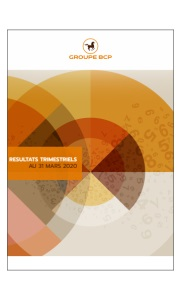 GROUPE BCP : RESULTATS TRIMESTRIELS AU 31 MARS 2020