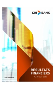 CIH BANK: Résultats Financière  Au 30 Juin 2020