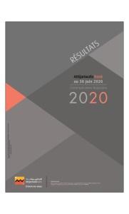 Résultat Attijariwafa bank au 30 juin 2020
