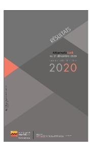 Résultats Attijariwafa bank au 31décembre 2020 : Communication financière 2020