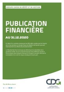 CDG : PUBLICATION FINANCIÈRE AU 31.12.2020