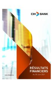 CIH Bank :  Résultats Financiers Au 30 Juin 2021