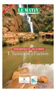 spécial problématique de l'eau au maroc