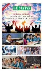 Système éducatif : Les priorités pour relever les défis du Maroc du 21e siècle