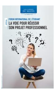 FORUM INTERNATIONAL DE L'ÉTUDIANT: LA VOIE POUR RÉUSSIR SON PROJET PROFESSIONNEL