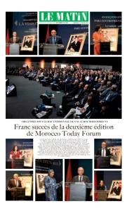 Spécial Morocco Today Forum