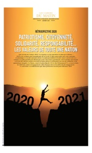 RÉTROSPECTIVE 2020: PATRIOTISME, CITOYENNETÉ, SOLIDARITÉ, RESPONSABILITÉ... LES VALEURS DE TOUTE UNE NATION